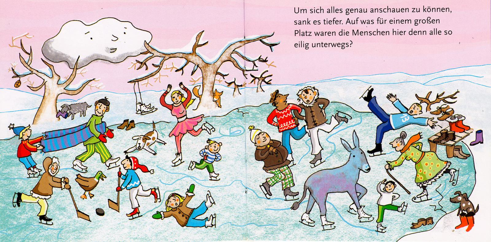 Wölkchens Winterreise