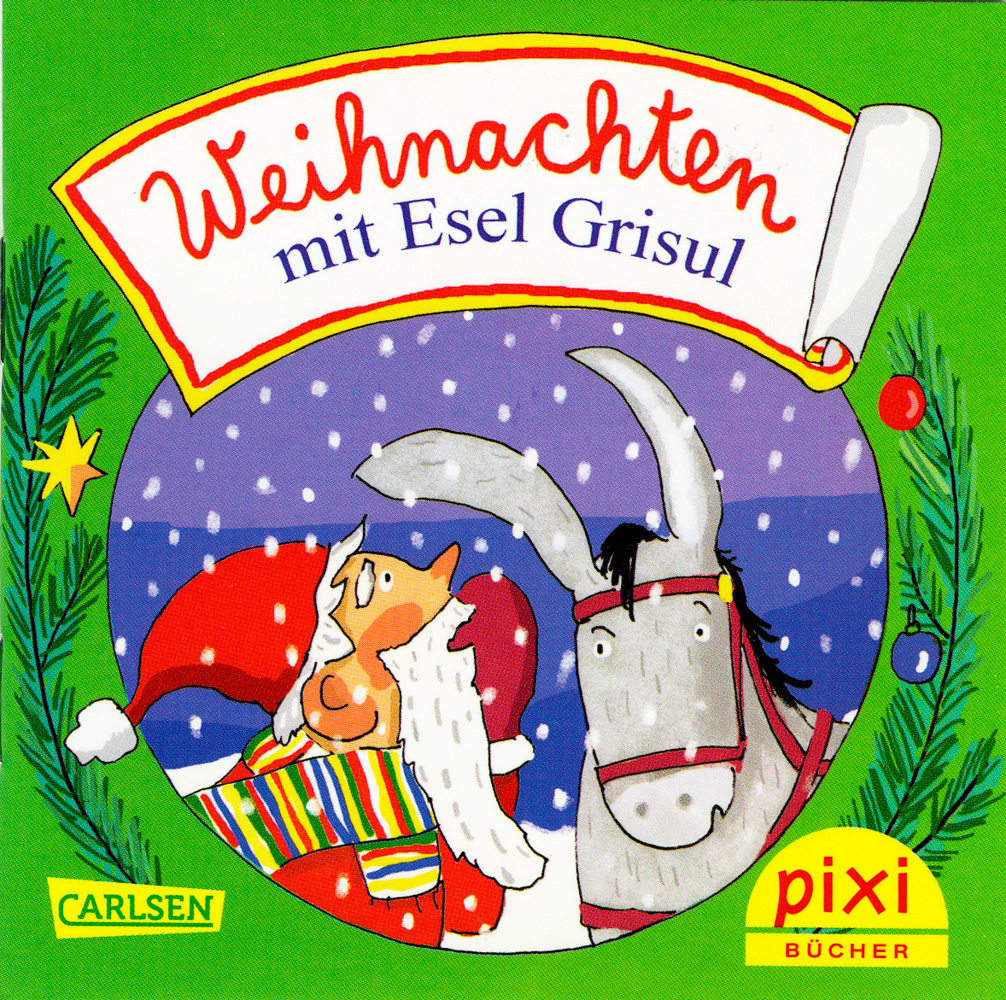 Weihnachten mit Esel Grisul